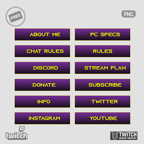 Purple-Twitch-Panels
